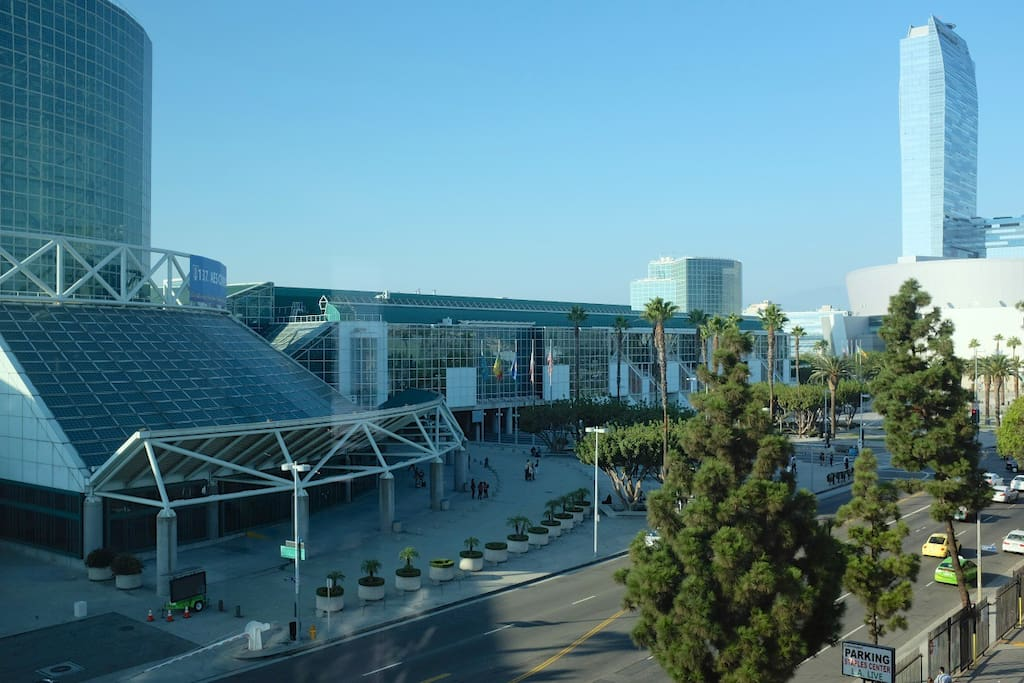 Steps from LA Convention Center! - The view from the unit's window