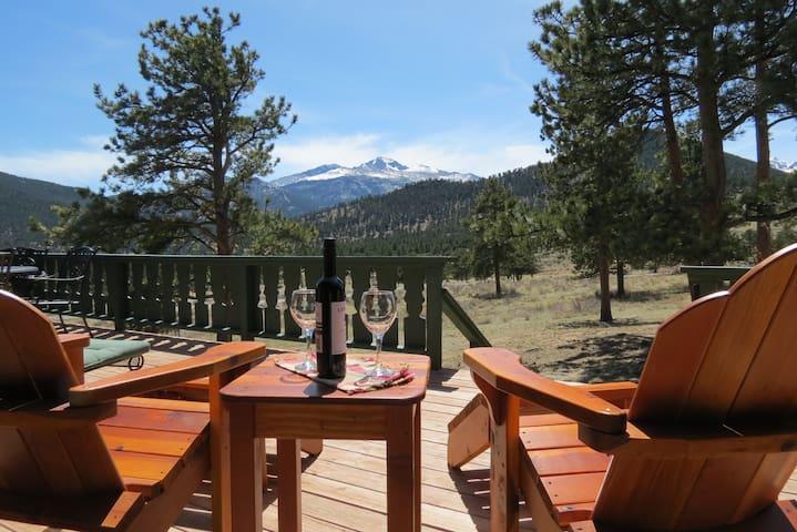 Longs Peak Lookout Cabin - Delightful Mountain Cabin with majestic Longs Peak view! -- EV #3360