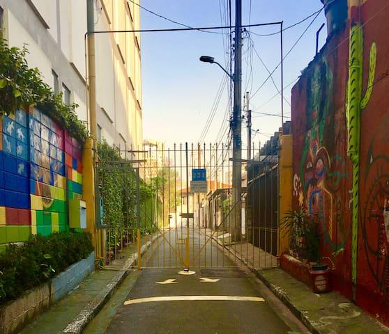 casa/atelier de Vila em Pinheiros