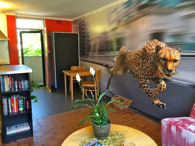 The Cheetah Cave ~ close to CBD