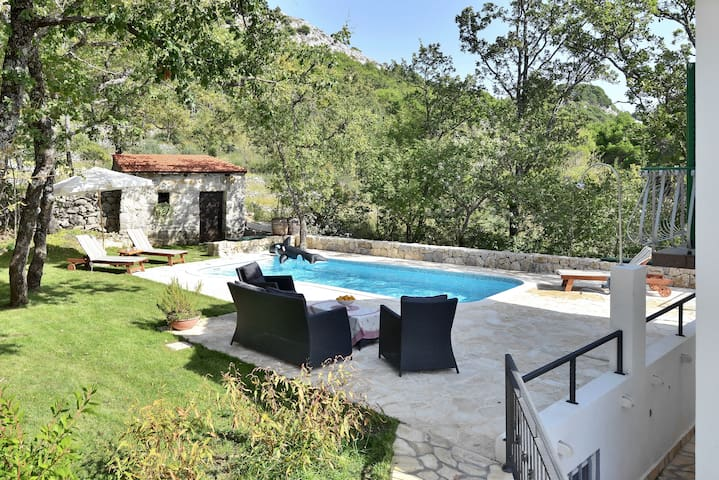 Villa Bellveder near Omiš (pool) - Tugare - House