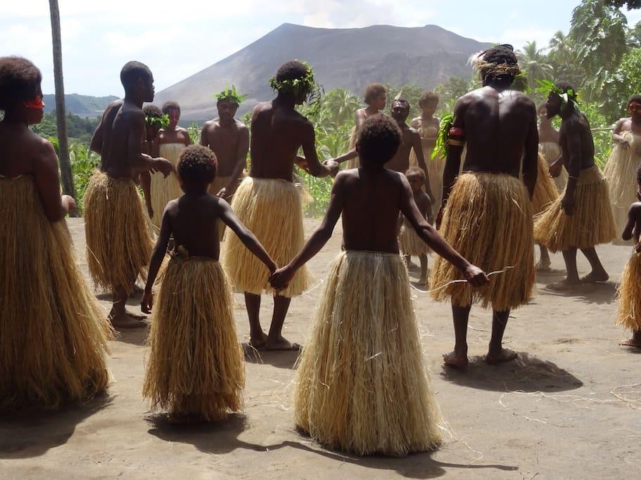 Custom Dancing in our Traditional custom village