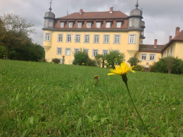 Romantische Räume in Barockschloss - Küps - Huoneisto