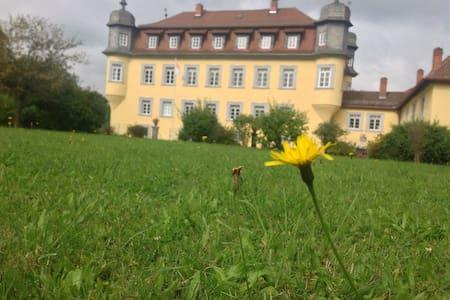 Romantische Räume in Barockschloss - Küps - Leilighet