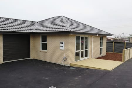 Brand New Fully Furnished Townhouse, close to town - Timaru - Townhouse