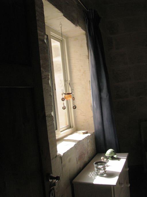 Guest bedroom window detail