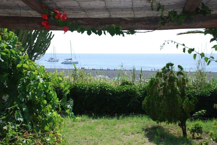 casa Anita spiaggia stromboli - Stromboli - Wohnung