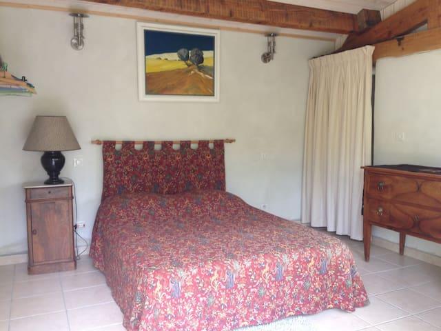 Charmante chambre avec vue magnifique sur Luberon