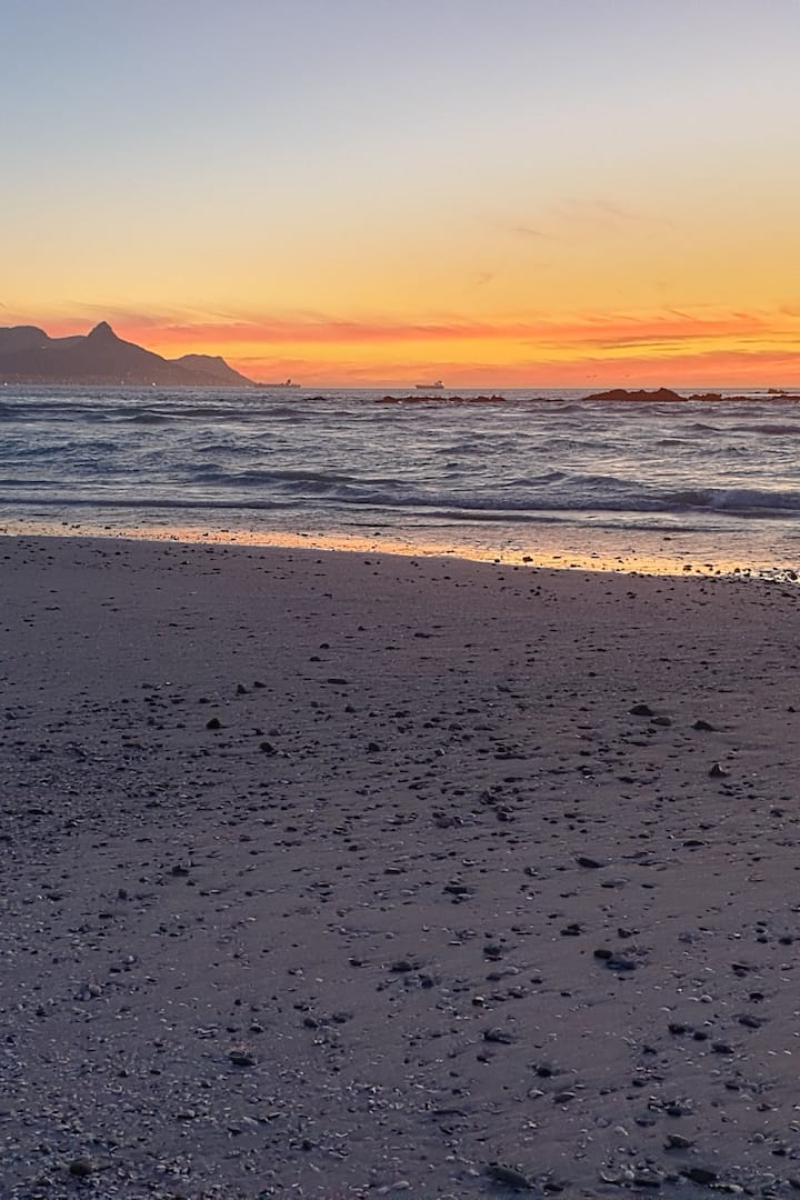 Table mountain in the distance