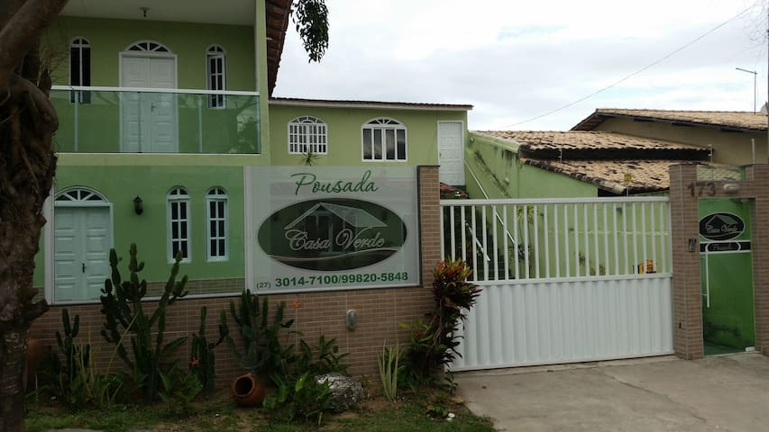 Pousada Casa Verde - Guarapari - Bed & Breakfast