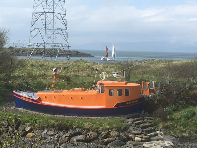 The Mary Heather, Lifeboat, Cuan Sound