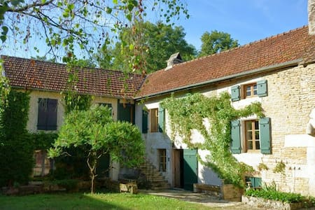 Belle et confortable Maison de Charme en Bourgogne - Magny-Lambert - Casa