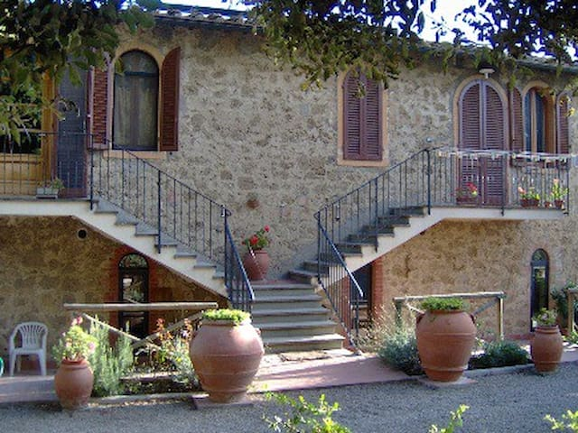 Your House in the CHIANTI Land - Poggibonsi - Huis