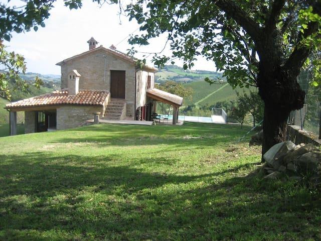 Luxueus huis in de Marche + zwembad - Cupramontana - House