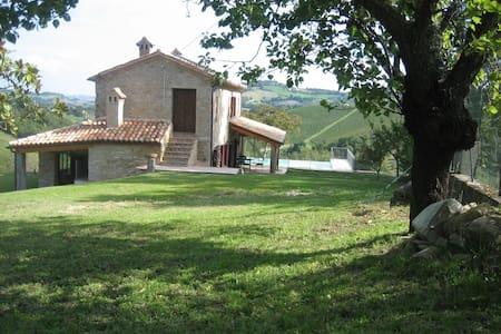 Luxueus huis in de Marche + zwembad - Cupramontana