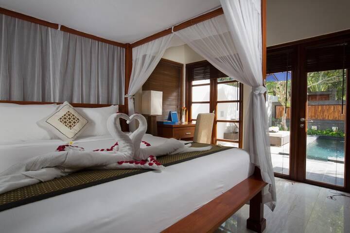 2BR Villa with Private Pool+B'fast+SPA+Massage