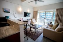 New! Beautiful Condo Steps from Ocean!