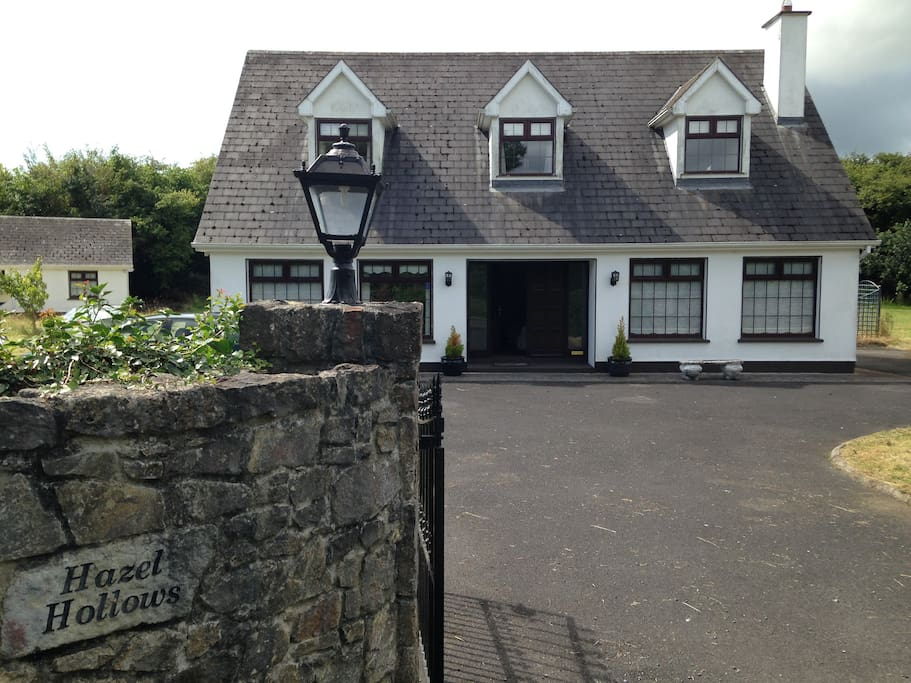 The house and site are totally secure, bounded by a tall gate and wall and trees and bushes on every side.  Perfect for children (or adults) who want to play games.   Lots of room and plenty of parking.
