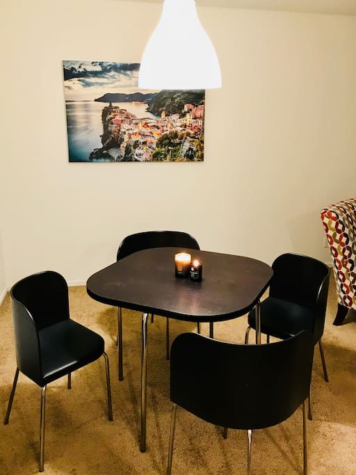 Beautifully designed and comfortable dining area.