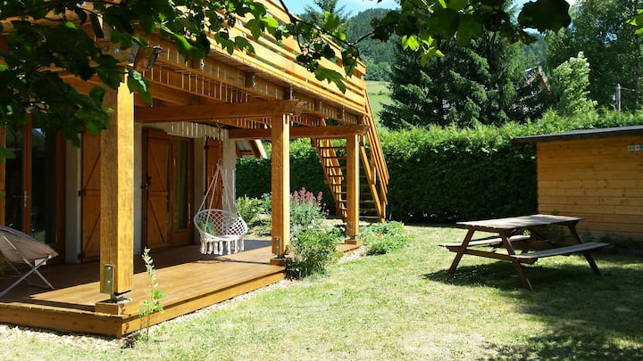 Chalet Vercors ideal famille sporti