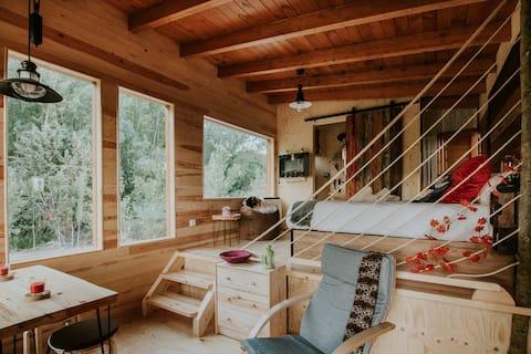 Durmiendo entre arboles/cabañas con encanto Rioja