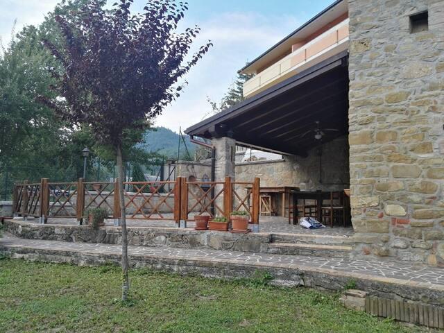 Casa nel parco nazionale monti della Laga