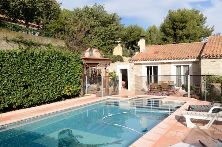 Maison avec piscine dans pinède à Saint Chamas - Saint-Chamas - Rumah