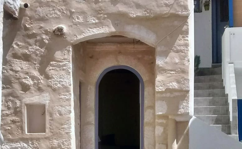 "Traditional ""Cellar"" in the center of Kimolos"