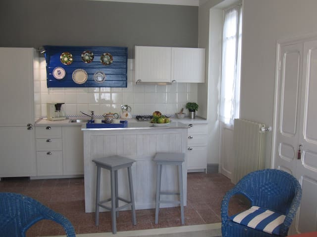 La felice casa di nonno Battistino - Apricale - อพาร์ทเมนท์