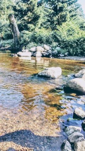 Cozy River Retreat near Skytrain!