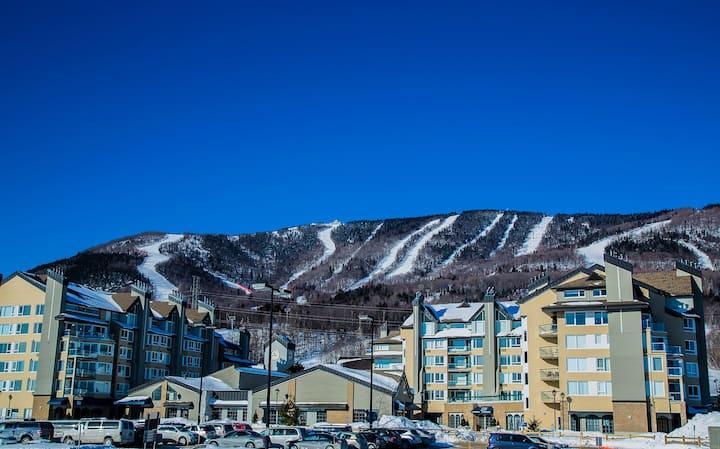 Ski in/Ski out Studio Mont Ste Anne