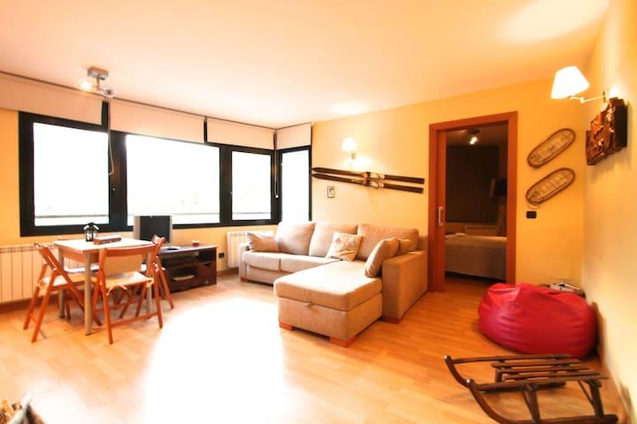 Great flat in Incles, Grandvalira - El Tarter - Daire
