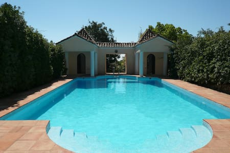 Guesthouse with private pool/garden - Tarifa