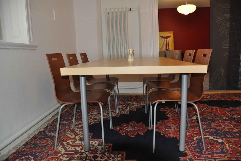 Esstisch/ Dining table