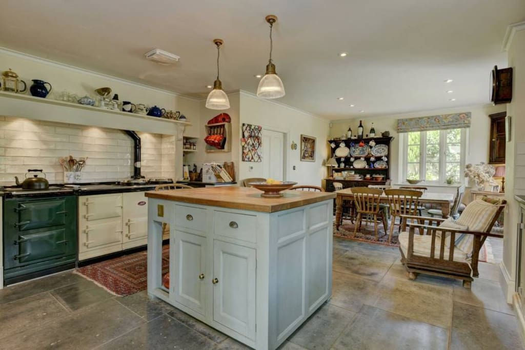 Kitchen with Aga and Aga friend