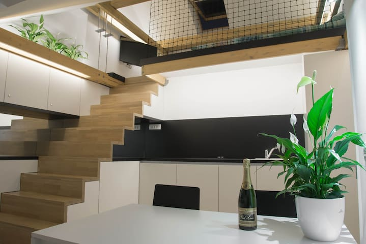 Stairway to Heaven, center - Ljubljana - Apartment