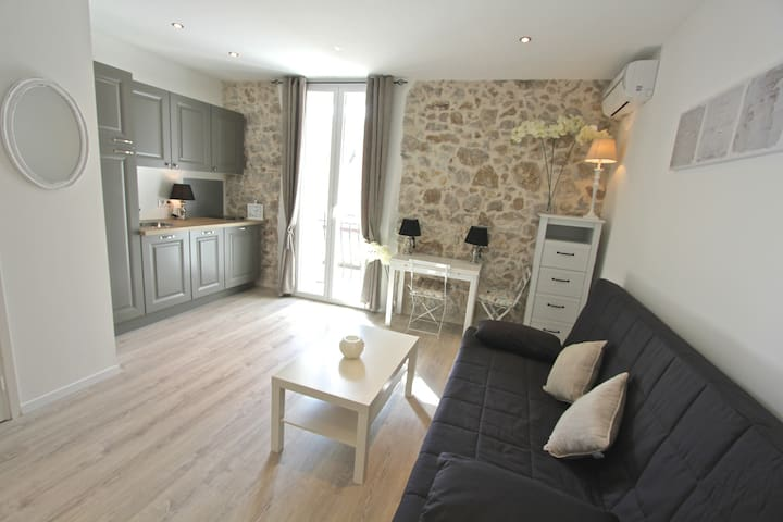 Studio de charme port d Antibes - Antibes - Apartment