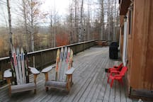 Chill out in the Idaho wilderness. listen to great horned owls, elk bugle, with views across our beautiful valley.