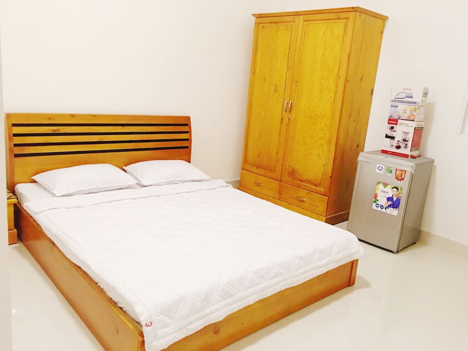 1st bedroom with fully furnished