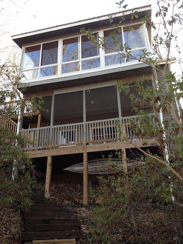 Lakefront Home in N GA Mtn's - Dawsonville - Casa
