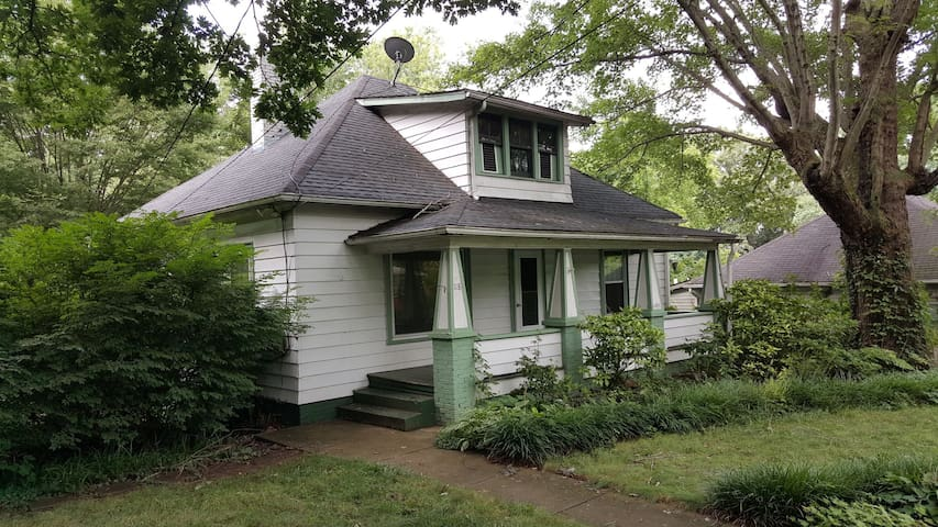 West Asheville Arts and Crafts Bungalow