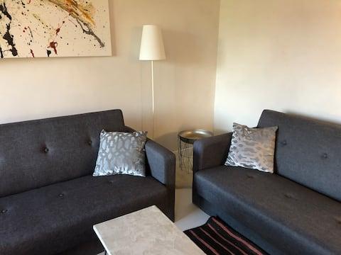 gemütliche Einzimmer-Wohnung im Grünen