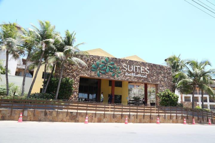 Suítes Beach Park Resort, aptº até 4 pessoas