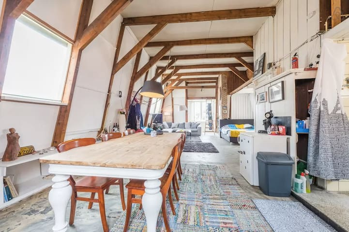 My spacious loft downtown Amsterdam - Amsterdam - Apartment