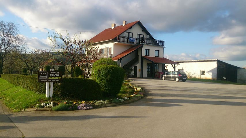 Doubleroom with external bathoroom - Brajdić Selo - Bed & Breakfast