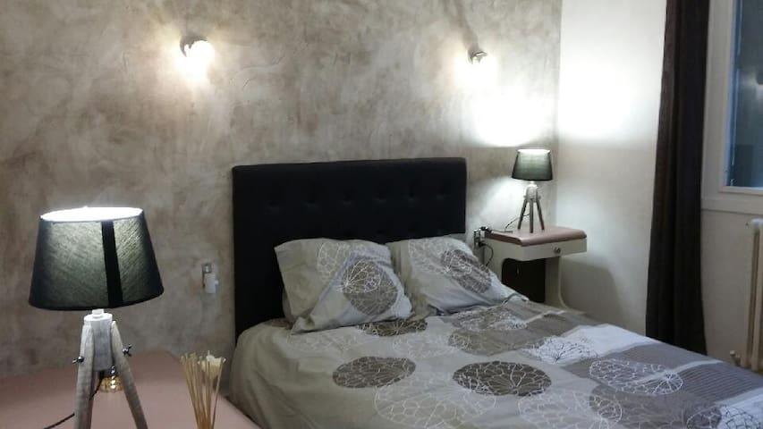 Appartement dans petit village au calme - Vaux-lès-Saint-Claude - Apartemen