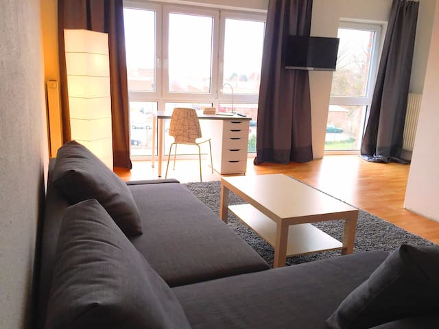 Citynahes Appartement mit oft maritimem Ausblick