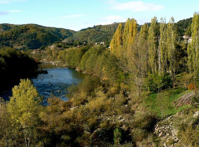 les bords d'Ardèche