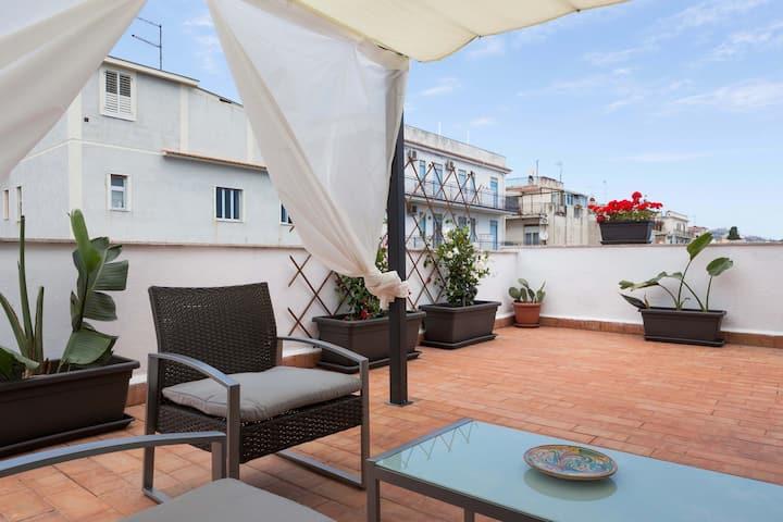 A CASA DI ANNA-beautiful sicilian terrace-