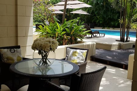 1 bedroom+patio in a luxury gated condo with pool